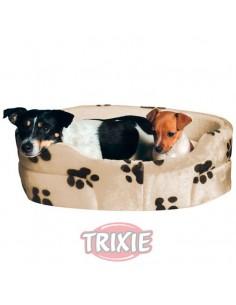 Cuna para perro ovalada modelo Charly, color Beige