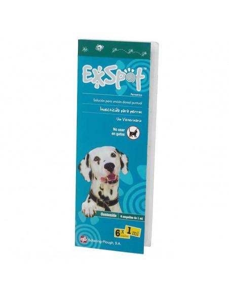 Antiparasitarios para perros - pipeta exspot 6 und