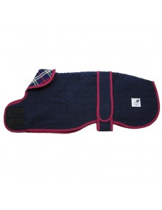 Ropa para perro -  abrigo Galgo Forrado Azul