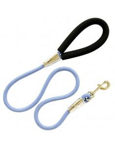 Correa para perro cuerda con empuñadura acolchada colores