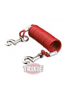 Cable para fijación de perros, 5 metros de longitud