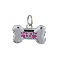 Accesorios para perro chapa identificativa metálica para perro que se puede escribir a mano