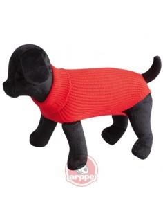 jersey para perro lana rojo