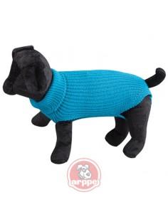 jersey para perro lana azul