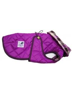 abrigo para perro impermeable fucsia