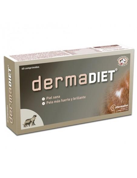 DERMADIET biotina para mantener una piel sana y pelo brillante en perros