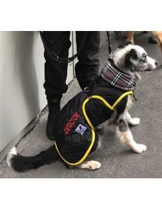 uniforme para perros detectores explosivos