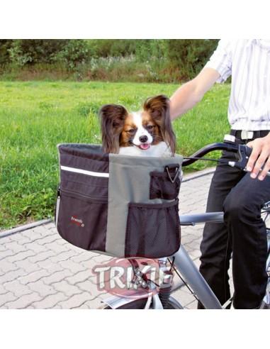 Cesta para llevar perro en bicicleta