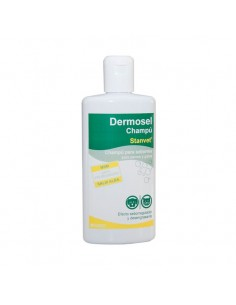 Champú Dermosel específico efecto seborregulador y desengrasante