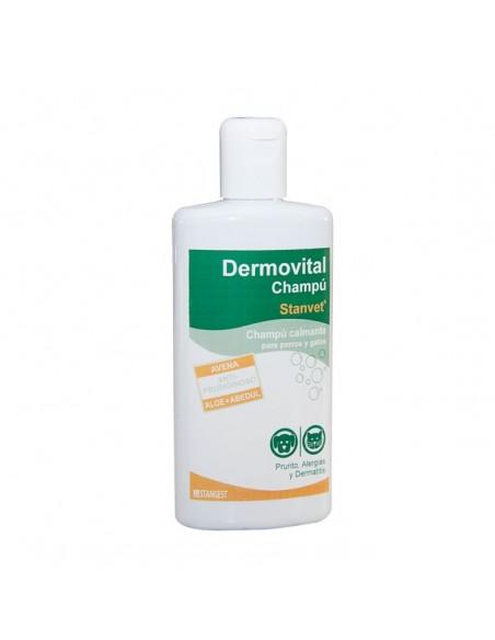 Champú Dermovital específico para prurito, alergías y dermatitis