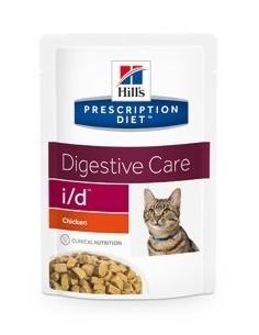 Alimento húmedo para gatos Hills i/d Pouch pollo