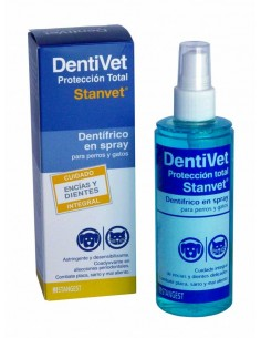 dentifrico en spray para perros dentivet