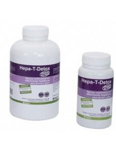 HEPA T DETOX suplemento nutricional para afecciones hepáticas en perros y gatos