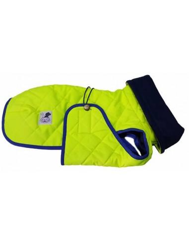 abrigo impermeable galgo alta visibilidad
