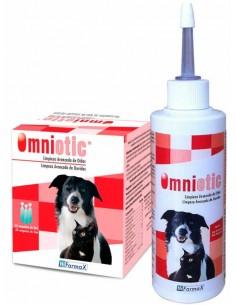 OMNIOTIC limpiador del canal auditivo del perro y gato