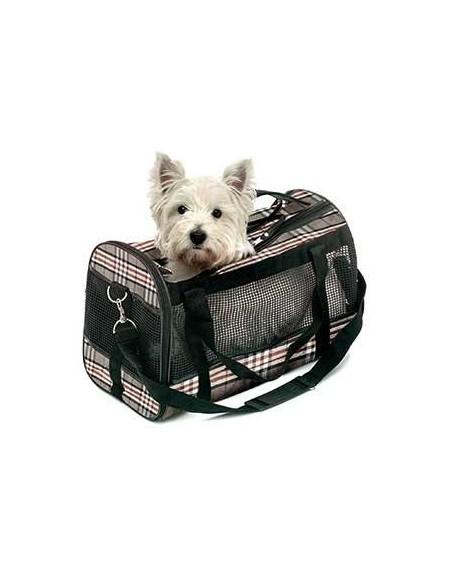 bolso para perro burberry