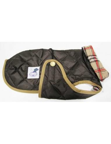 abrigo impermeable para piccolo marron