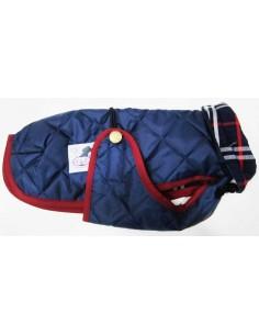 abrigo impermeable para piccolo azul