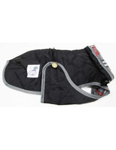 abrigo impermeable para piccolo negro