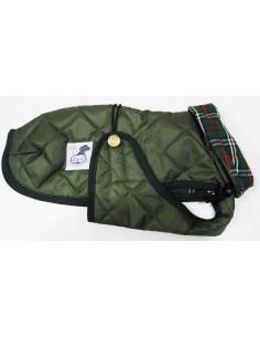 abrigo impermeable para piccolo verde