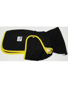 Ropa para perro - Impermeable Galgo color negro