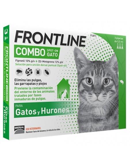 Antiparasitarios para gatos - Pipeta Frontline Combo