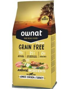 pienso cachorro ownat prime grain free pollo