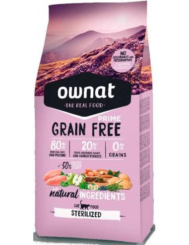 pienso para gato ownat grain free