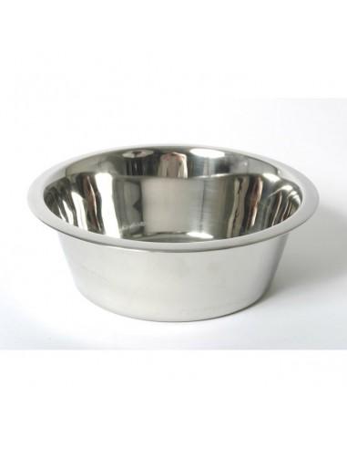 Comedero para perros de plato inox lucas lola for Comederos para perros