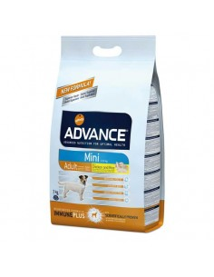 Comida para perros pienso advance MINI ADULT CHICKEN & RICE