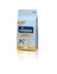 Comida para perros pienso advance SENSITIVE SALMON & RICE
