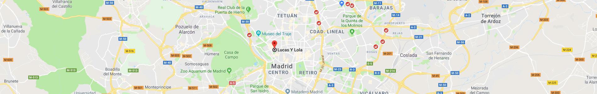 Como llegar a Lucas Y Lola