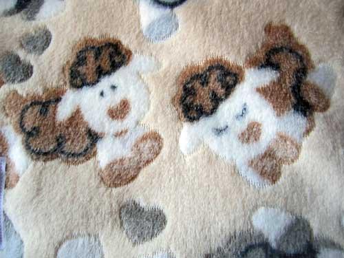 manta perro felpa