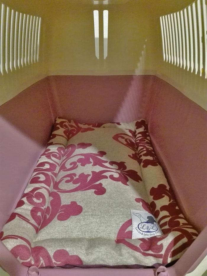 cama fina para transportines de perros